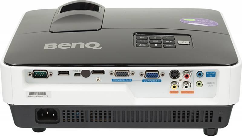 Проектор Benq MX620ST черно-серый - фото 2