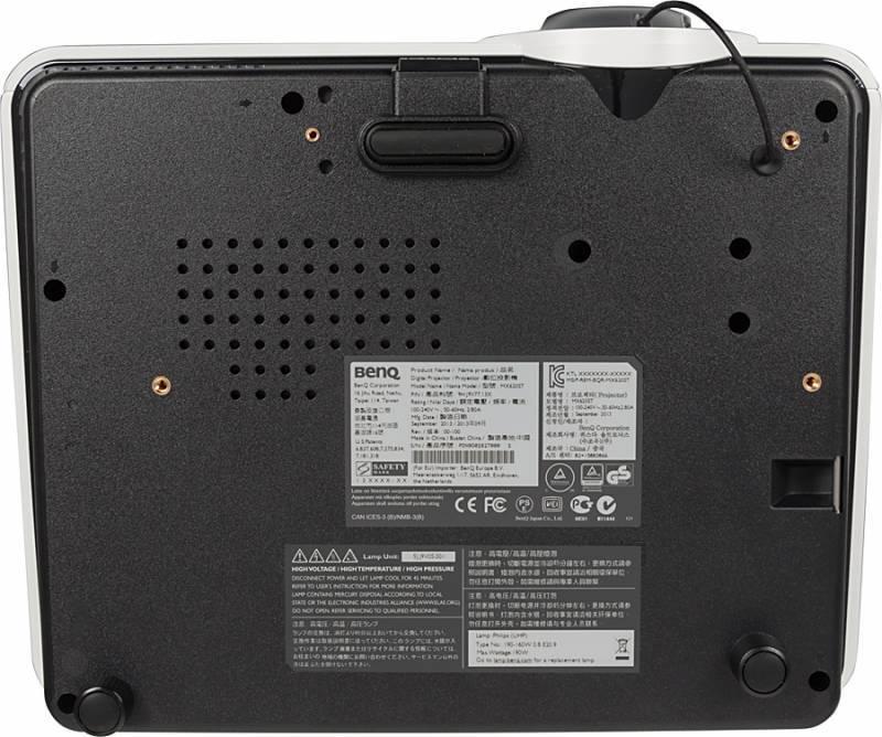 Проектор Benq MX620ST черно-серый - фото 3