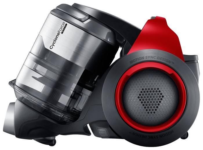 Пылесос Samsung SC20F70HA красный - фото 2