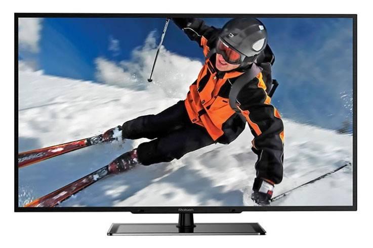 """Телевизор LED 46"""" Rolsen RL-46D1309F черный - фото 1"""