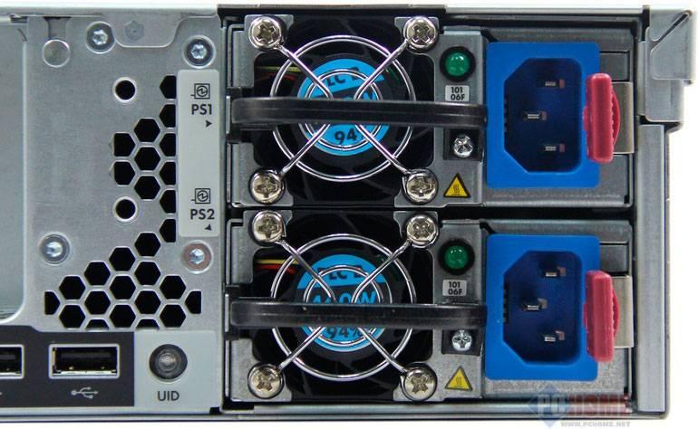 Сервер HPE ProLiant DL380p Gen8 - фото 7