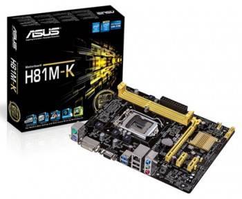 Материнская плата Asus H81M-K Soc-1150 mATX
