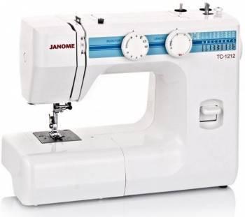 Швейная машина Janome TC-1212 белый (TC 1212)