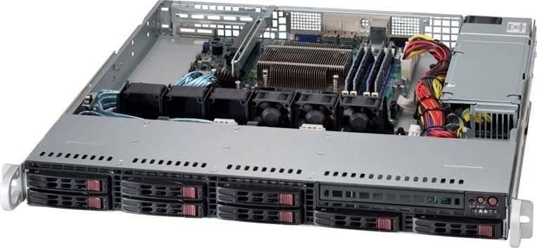 Сервер SuperMicro SYS-1018D-73MTF  1U Intel Xeon DDR3 - фото 2