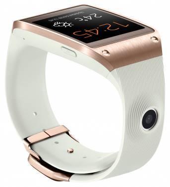 Смарт-часы Samsung Galaxy Gear SM-V700 1.63 / золотой