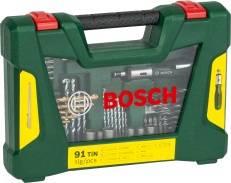 Набор принадлежностей Bosch V-line, 91 предмет (2607017195)