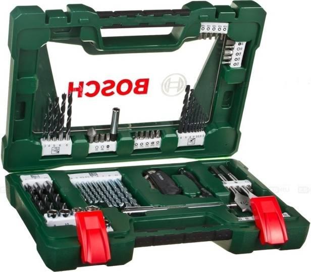 Набор принадлежностей Bosch V-line, 68 предметов (2607017191) - фото 1