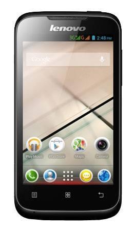 Смартфон Lenovo A369i 4ГБ черный - фото 1