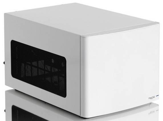 Корпус miniITX Fractal Design Node 304 белый (FD-CA-NODE-304-WH) - фото 3