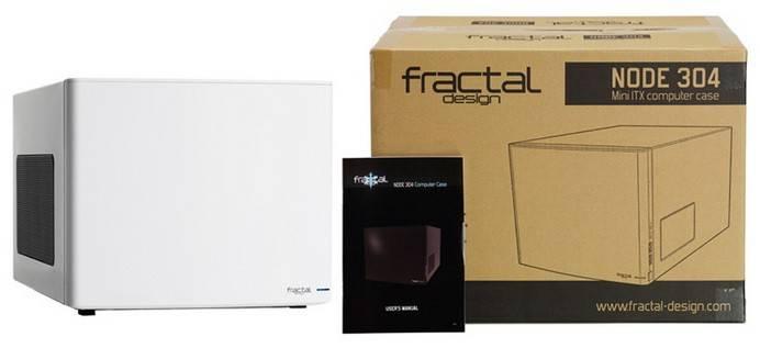 Корпус miniITX Fractal Design Node 304 белый (FD-CA-NODE-304-WH) - фото 10