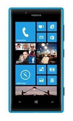 Смартфон Nokia Lumia 720 голубой - фото 1