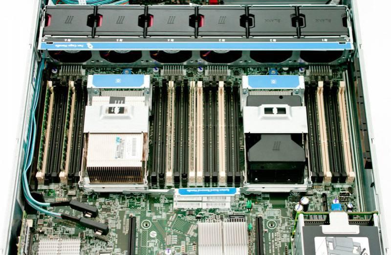 Сервер HP ProLiant DL380p Gen8 - фото 5