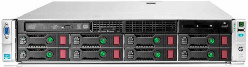 Сервер HP ProLiant DL380p Gen8 - фото 2