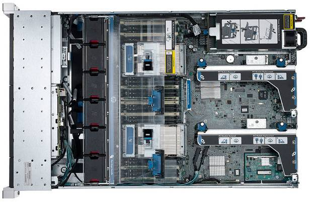 Сервер HP ProLiant DL380p Gen8 - фото 4