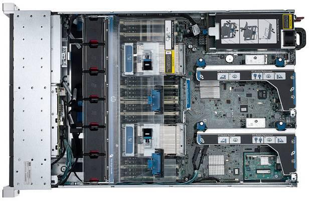 Сервер HP ProLiant DL380p Gen8 - фото 4