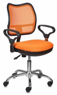 Кресло Бюрократ CH-799SL оранжевый/оранжевый (CH-799SL/OR/TW-96-1)