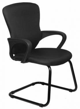 Кресло Бюрократ CH-818-Low-V / 15-21 черный