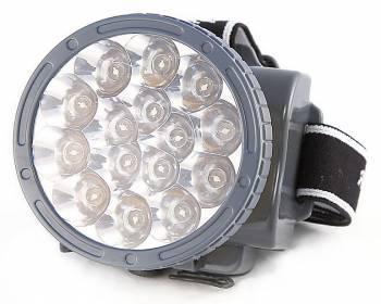 Налобный фонарь Яркий Луч LH-15A желтый (4606400607847)