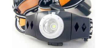 Налобный фонарь Яркий Луч LH-3D черный