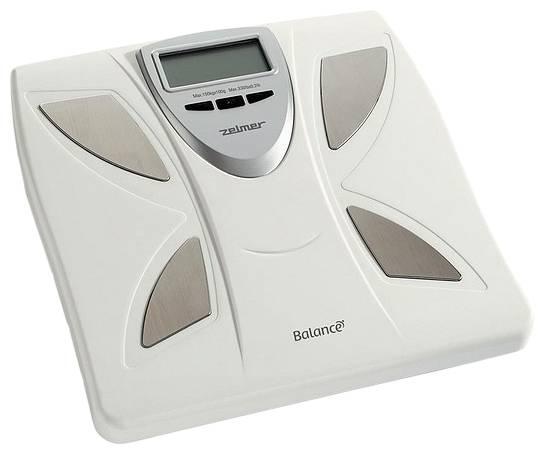 Весы напольные электронные Zelmer 34Z011 WH белый - фото 1