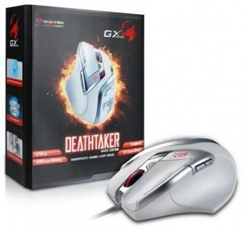 Мышь Genius DeathTaker белый / рисунок