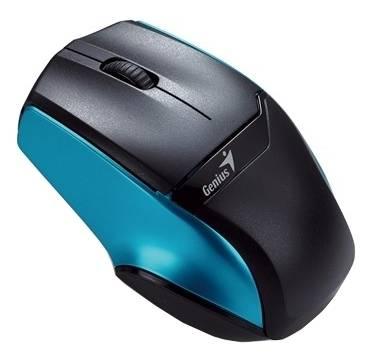 Мышь Genius NS-6010 черный/синий - фото 1