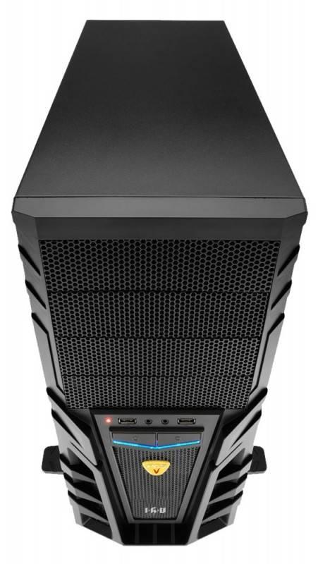 Системный блок IRU Home 550 черный - фото 2