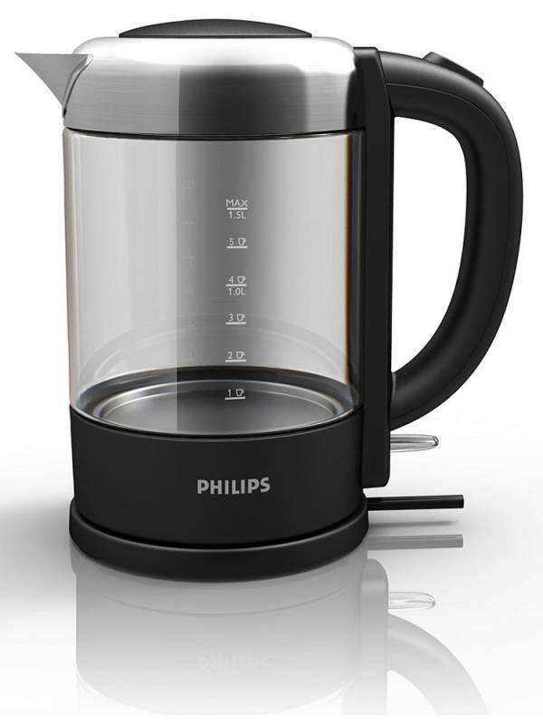Чайник электрический Philips HD9340 черный (HD9340/90) - фото 2