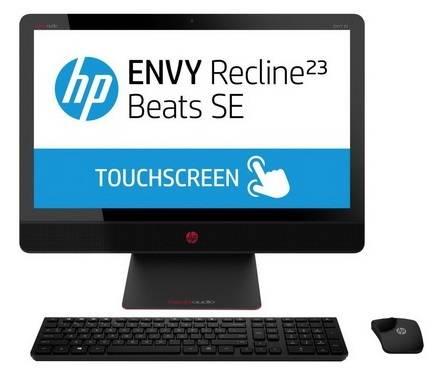 """Моноблок 23"""" HP Envy Recline Beats SE 23-m102er черный/красный - фото 4"""