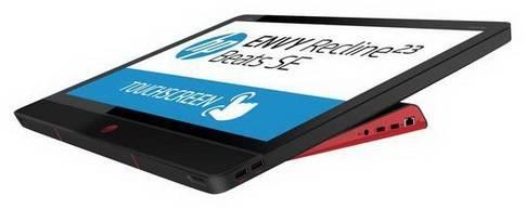 """Моноблок 23"""" HP Envy Recline Beats SE 23-m102er черный/красный - фото 7"""