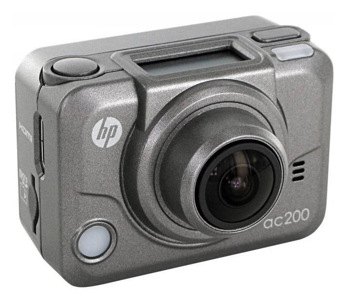 Экшн-камера HP ac200 серый - фото 1
