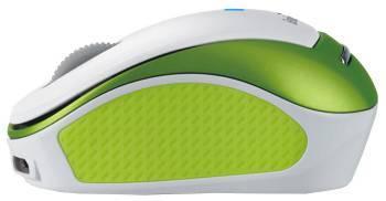Мышь Genius Micro Traveler 9000R белый / зеленый