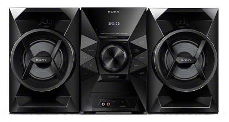 Минисистема Sony MHC-ECL6D черный - фото 1
