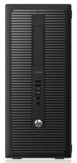 Системный блок HP EliteDesk 800 G1 MT черный - фото 2
