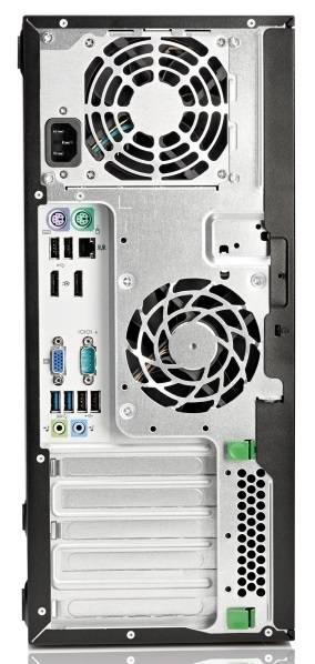Системный блок HP EliteDesk 800 G1 MT черный - фото 4