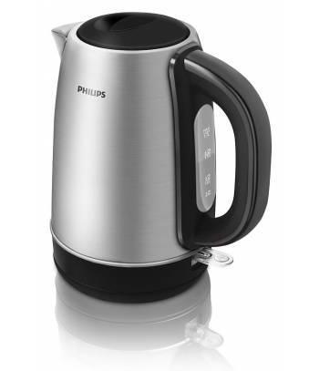 Чайник электрический Philips HD9320 / 21 серебристый / черный