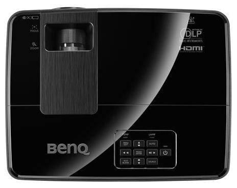 Проектор Benq MX522P черный - фото 3