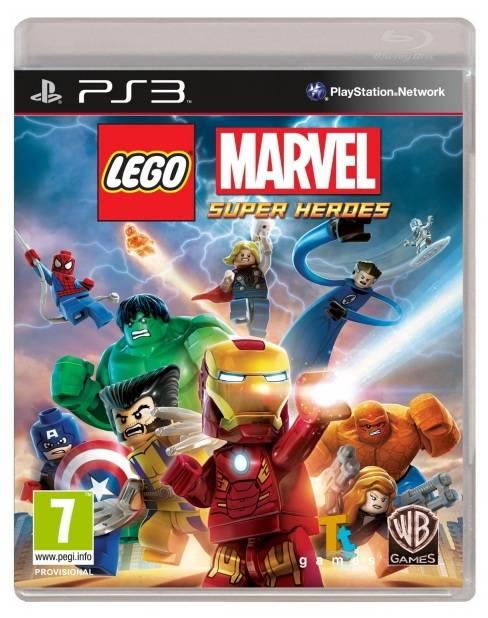 Игра для Play Station 3 Sony LEGO Marvel Super Heroes - фото 1