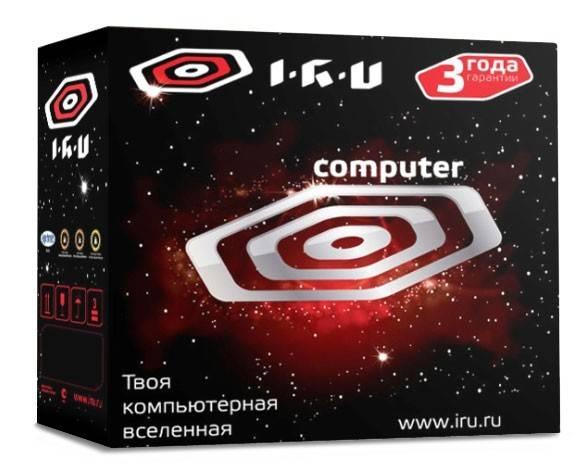 Системный блок IRU Home 525 черный - фото 4