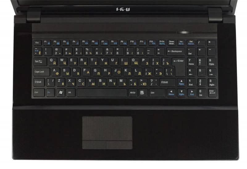 """Ноутбук 17.3"""" IRU Patriot 712 черный - фото 6"""