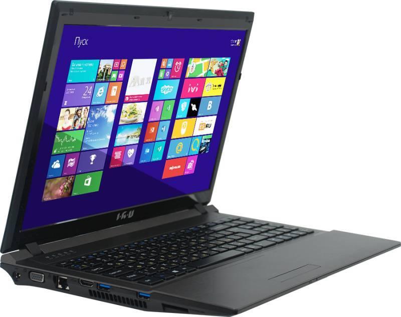 """Ноутбук 15.6"""" IRU Patriot 528 черный - фото 2"""