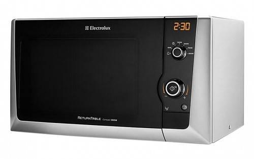 СВЧ-печь Electrolux EMM 21150 S серебристый - фото 1