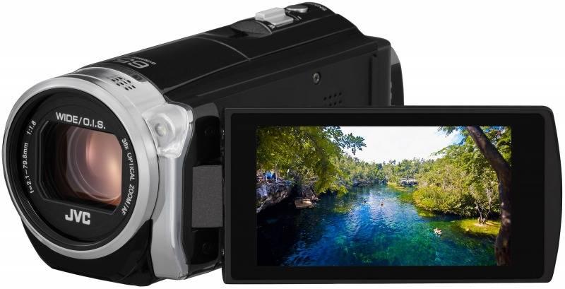 Видеокамера JVC GZ-E509 черный - фото 1