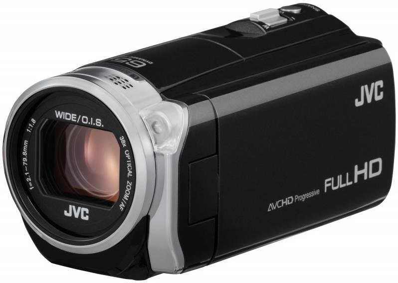 Видеокамера JVC GZ-E509 черный - фото 2