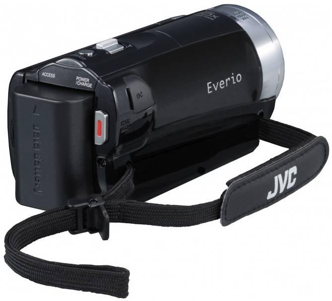 Видеокамера JVC GZ-E509 черный - фото 5