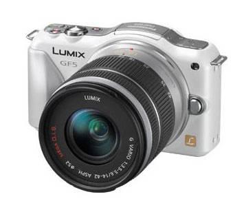 Фотоаппарат Panasonic Lumix DMC-GF5 kit белый - фото 1