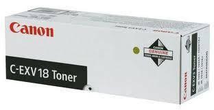 Тонер Canon C-EXV18 (GPR-22) черный 465 грамм (0386B002)