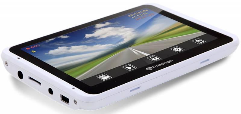 "GPS-навигатор Prestigio GeoVision 5800BTHDDVR 5"" белый - фото 3"