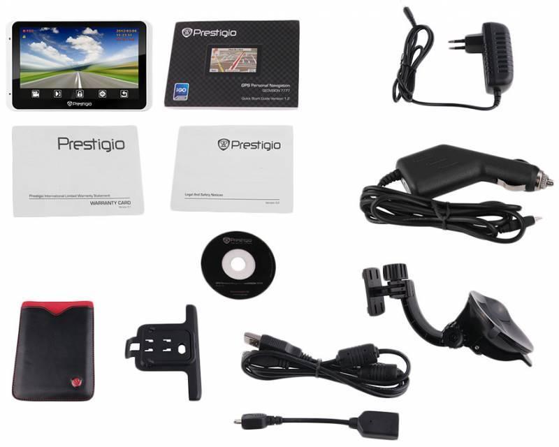 "GPS-навигатор Prestigio GeoVision 5800BTHDDVR 5"" белый - фото 7"