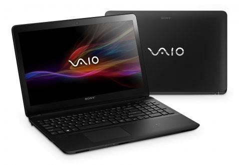"""Ноутбук 15.5"""" Sony SVF1521P1R/B черный - фото 2"""